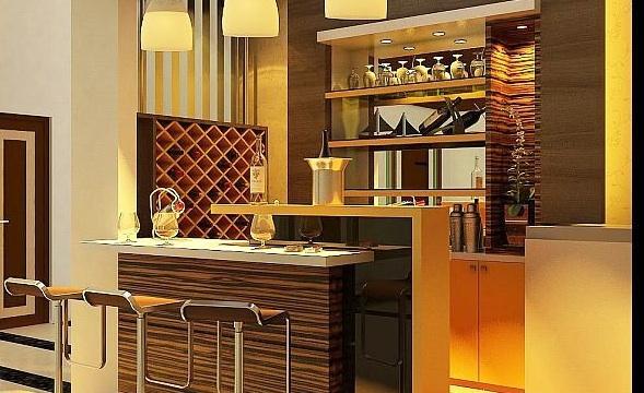 Una zona de bar en tu tico ebrosa promotora inmobiliaria for Bar rustico para casa