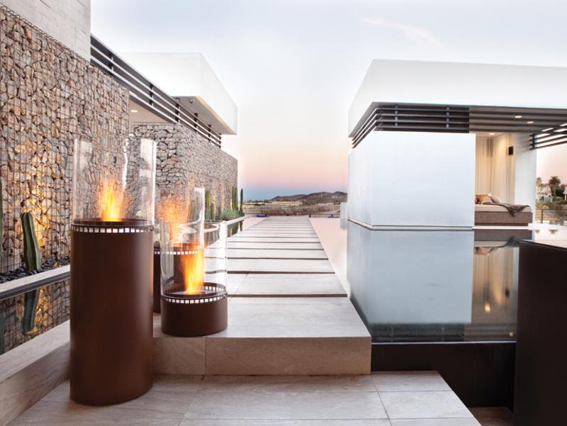 Opciones de calefacci n para aprovechar tu terraza en - Estufas exteriores para terrazas ...