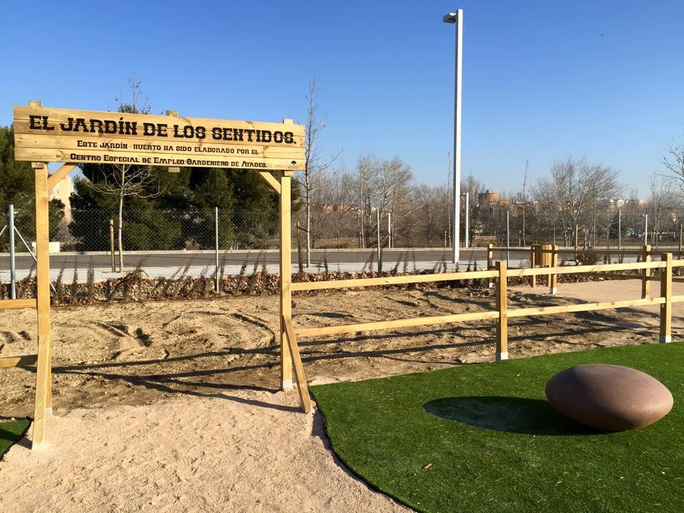 Ebrosa propicia la creaci n de un espacio verde para uso terap utico en zaragoza con atades - El jardin de los sentidos ...